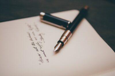 Coming out Brief schreiben
